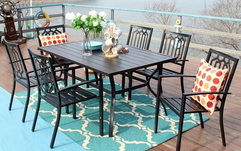 Tasteful Phi Villa patio furniture
