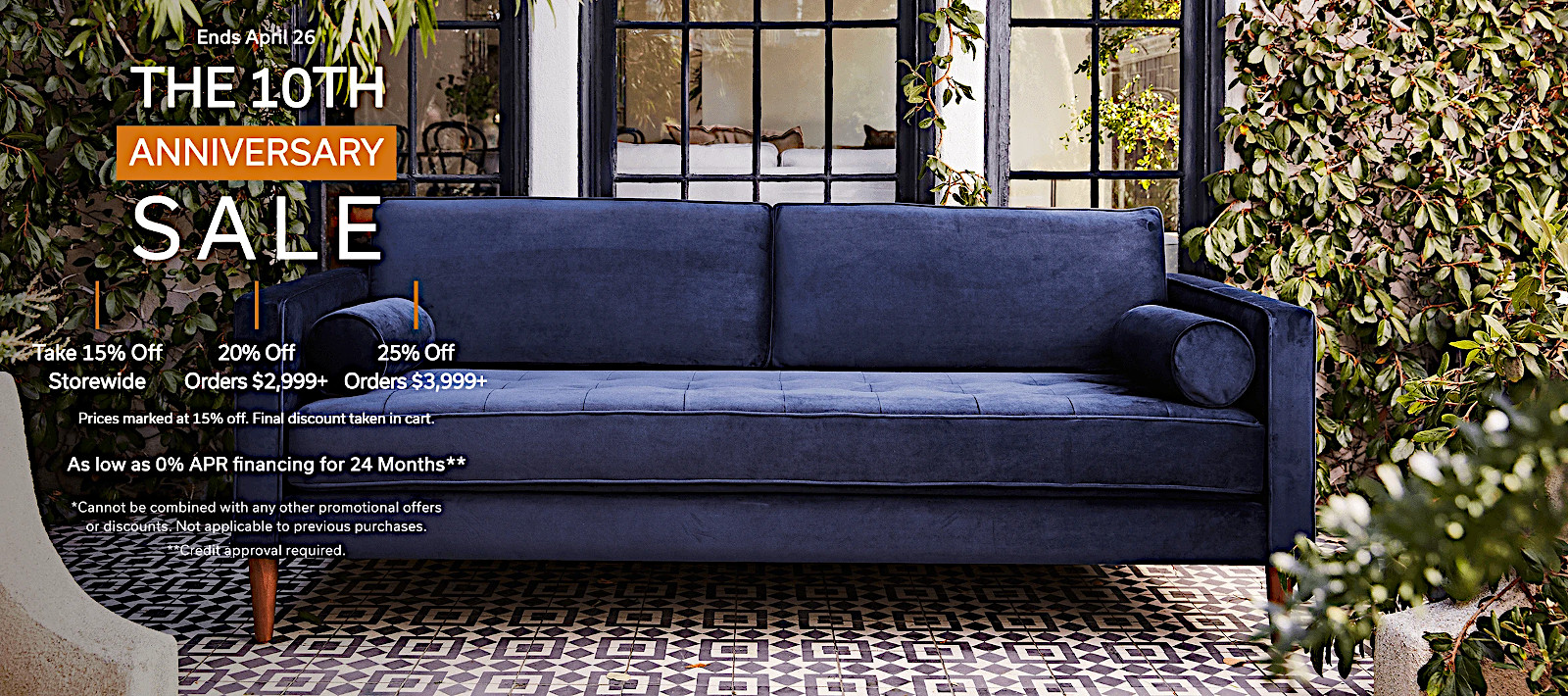Low-cost sofas and sectionals