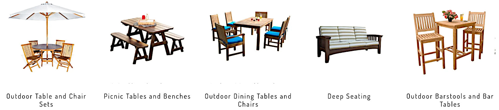 Easy of use tables and chairs