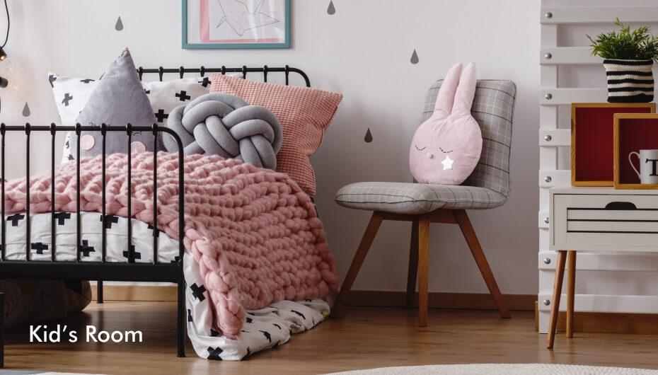 Extraordinary kid's room furniture and decor