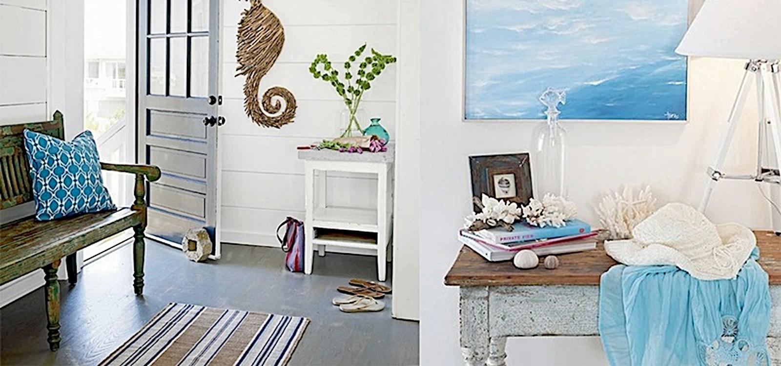 Excellent nautical coastal theme decor