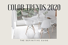 Color trends 2020, the definitive guide