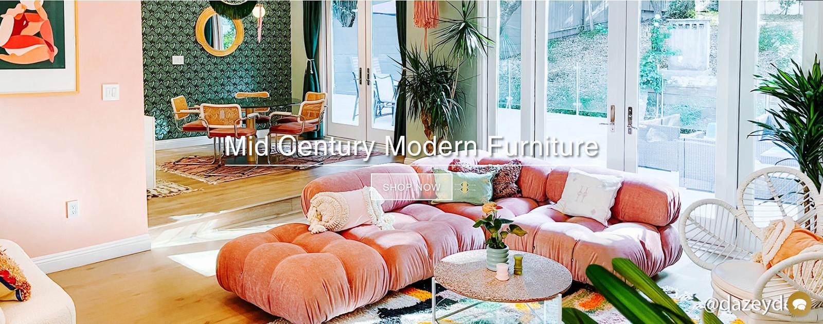 Lovely mid century modern furniture