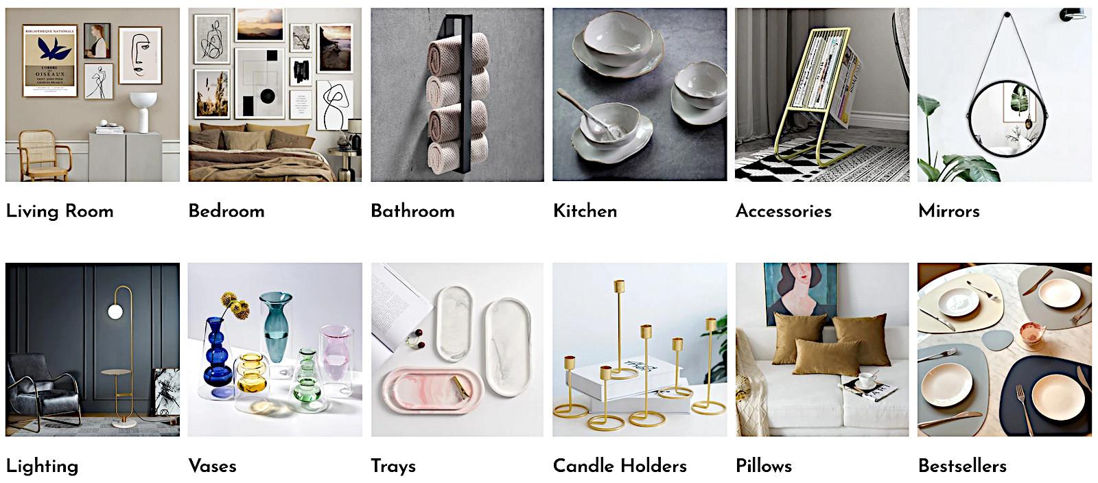 Durable scandinavian design collections