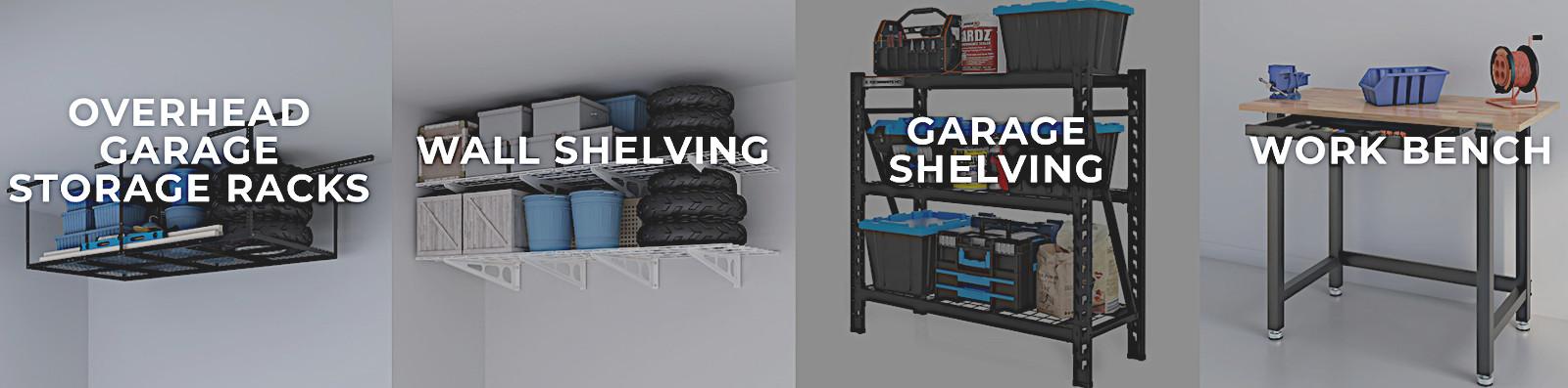 Low-priced garage storage racks