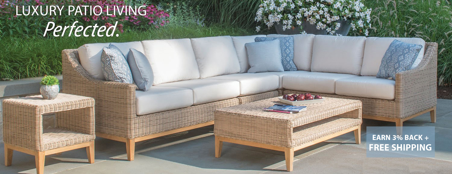 Special luxury pation living furniture