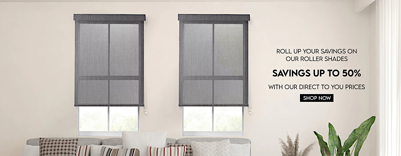 Special roller shades