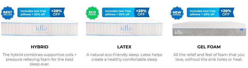 Sleep mattresses
