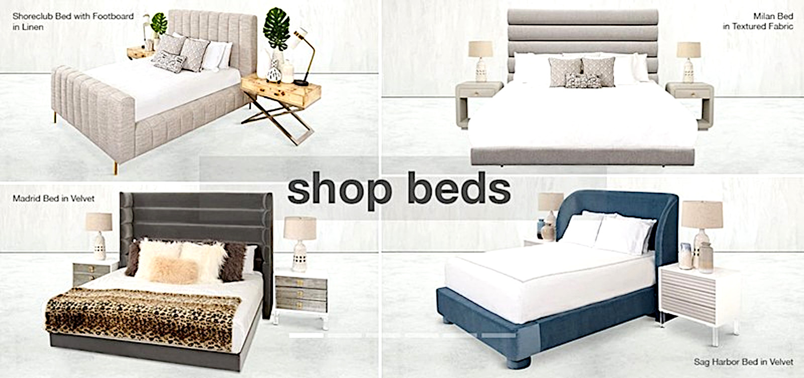 Reliable modern beds and headboards