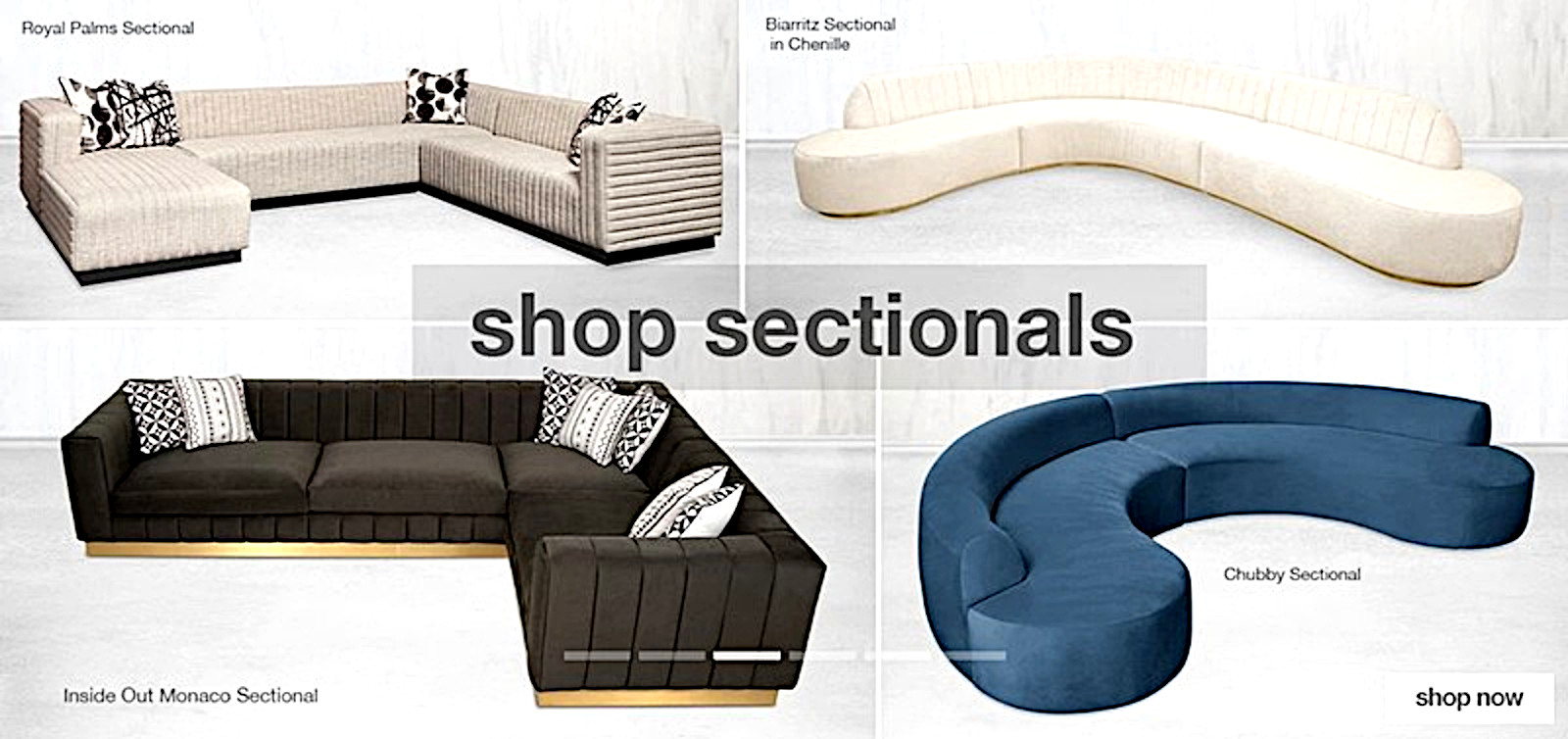 Outstanding modern sectionals