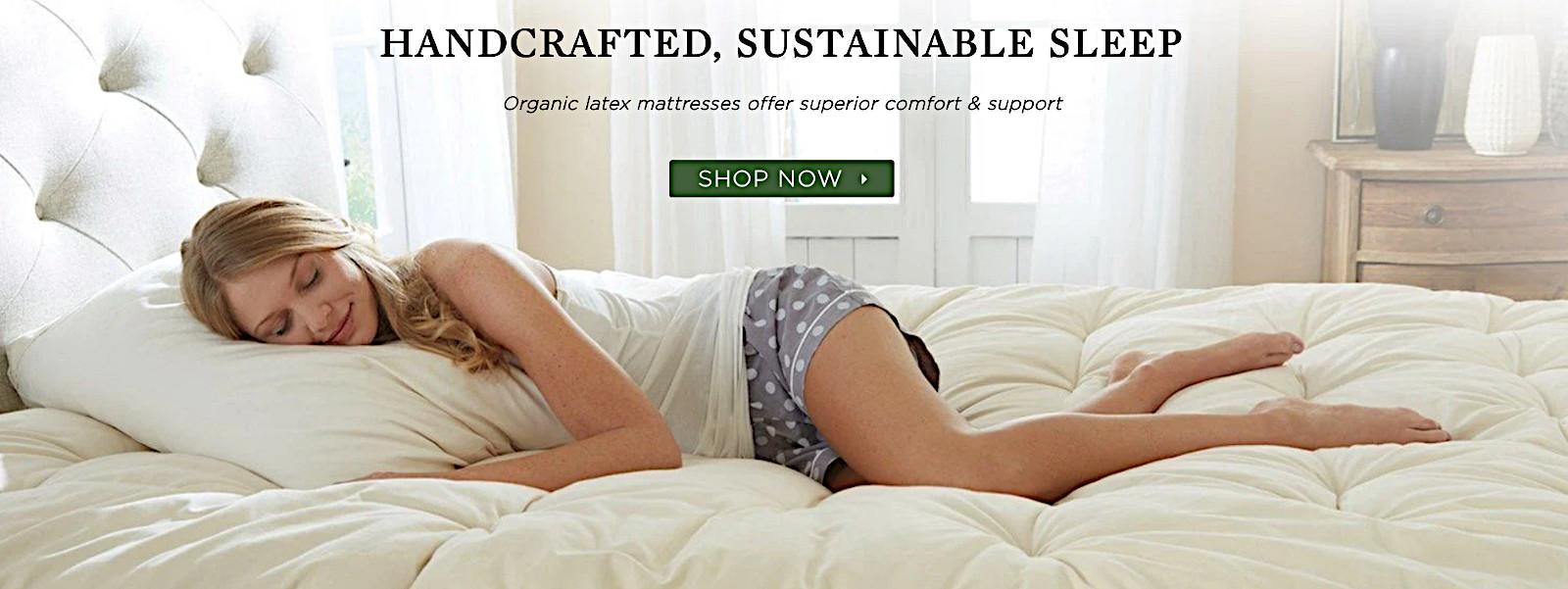 Longstanding organic natural latex mattresses