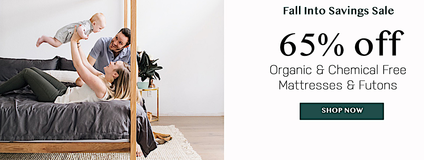 Best-selling organic and chemical free mattresses and futons