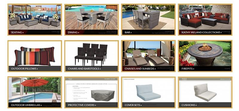 TK Classics outdoor furniture