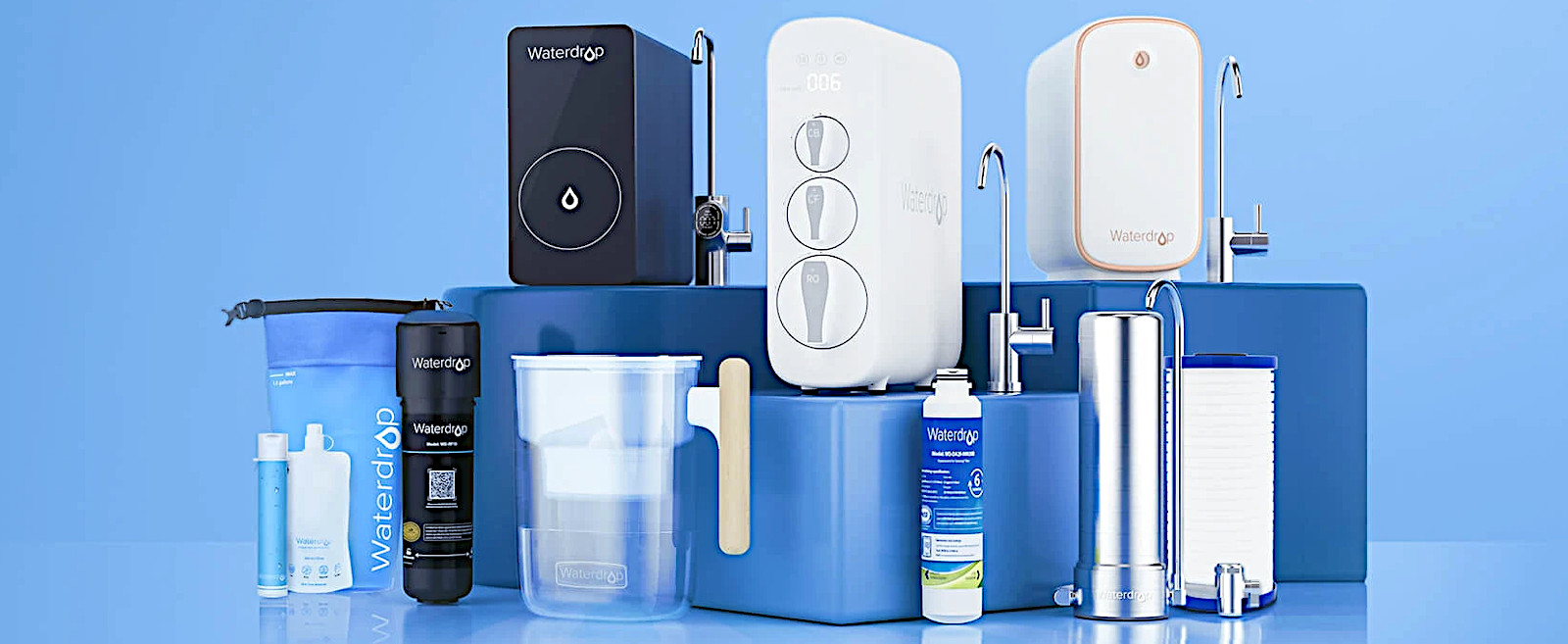 Competitive complete water filtration solutions